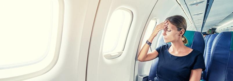 Angst und Panik vor dem Fliegen